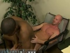 Huge bear forces gay twink first time JP gets down to service Mitch's
