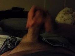 Homemade hand job with wife