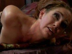 Intruder zipties curvy woman