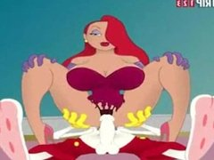 Roger Rabbit and Jessica Rabbit Anal Fuck