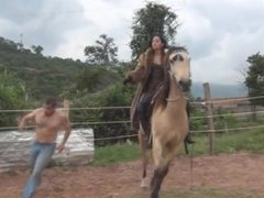 Fur Whipping Riding Goddess