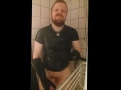 Danish 25yo Guy - I'm in the shower & masturbation until cum on bathroom