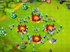 Clash Of Clans hot Barbarian on Healer action
