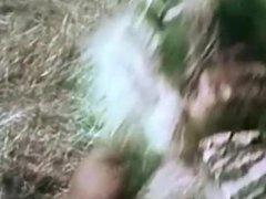 Reg Park as Hercules Strangles Lion Breaks Its Neck