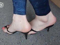 Asian feet sole