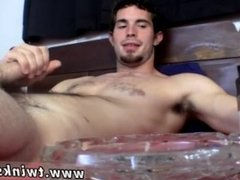 Gay hung sex bj Hunter chain-smokes while he works on his BIG unshaved
