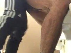 garche en baño público