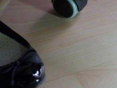 Smelly Ballerina Under Desk