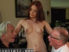 Teen asslicking old man and old man fucks young ass Minnie Manga licks