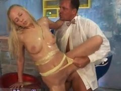 Skinny russian blonde anal and bbc to big for tight teen Sweet Terry