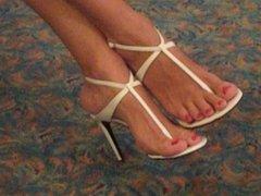 high heel thongs