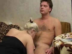 Russian mature Luna and young boy 4