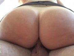 Hot pornstar handjob with creampie