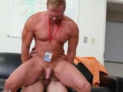 Gay twink big cock porn tube First day at work