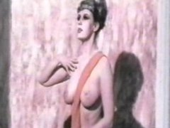 """Clip from Harrison Marks """"Nine Ages of Nakedness"""" statue girls."""