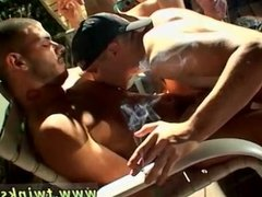 handsome mens gay sex video xxx 4-Way Smoke Orgy!