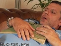Old german men first time Phillipe is sleeping on the couch when