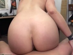 Big tit milf facesitting Stripper wants an upgrade!