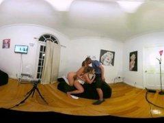 BIG BOOTY KELSI MONROE FUCKS BIG DICK IN CAMSODA VR ORGY CUMSHOT FACIAL