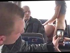 Behind The Scenes Public Sex - Bus
