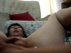 duk get 4 fingers in pussy and squirts multi orgasams