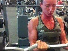 Fit girls training