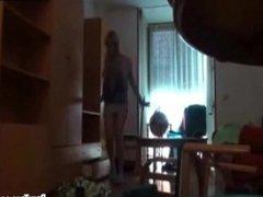 video casero con la cuñada cachonda