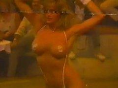 Tiffany Ann Smoking Hot 90s Bikini Contest Girl Music Video