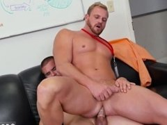 Free videos straight males car wank gay First day at work
