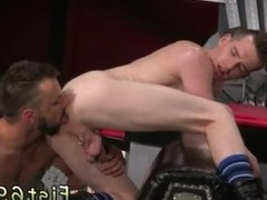 Male bodybuilders for body worship gay Aiden Woods is on his back and