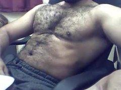 Hot muscle webcam