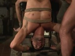 Sub Tied, Edged, & Facefucked
