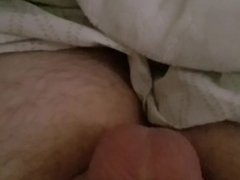 Edging myself to a big cum shot