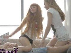 Creampie cum swap xxx 2 ladies poke 1 dude very hot!