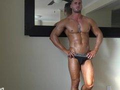 Cameron a muscular man