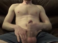 Cumming Hard All Over My Chest For Anna -- JohnnyIzFine