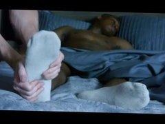 Remi Gets His Huge Boy Feet Massaged
