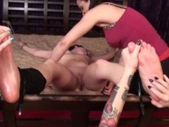 trixie's naked gang tickling