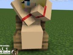 Minecraft Girl Masturbating