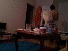 Shqipe Aliu doing her stuff!