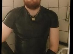 Danish 25yo Guy - I'm in the shower and masturbation until cum on bathroom