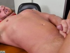 Straight men eat cum movies gay First day at work