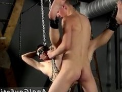 Uncut twink cock bondage and gay penis bondage porn movies xxx Filled