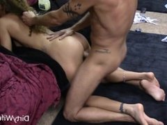 Hot MILF gets fucked hard and blasted with cum