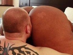 Sexy Exotic Ebony BBW Cotton Candi Dominates White Cuckold
