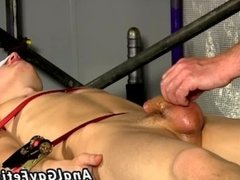 Amateur gay bondage movies xxx Wanked and edged over and over, he's