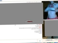 PURPLE HAIRED OMEGLE TEEN LOVES WHAT SHE SEES (Part 1)