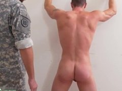 Group of muscular army men have gay sex Afterward, we get them to nail