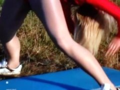 pantyhose dance 5