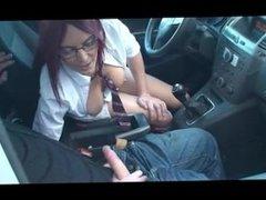 Blowjob from street hooker